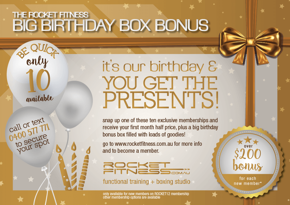 Big Birthday Box Bonus!